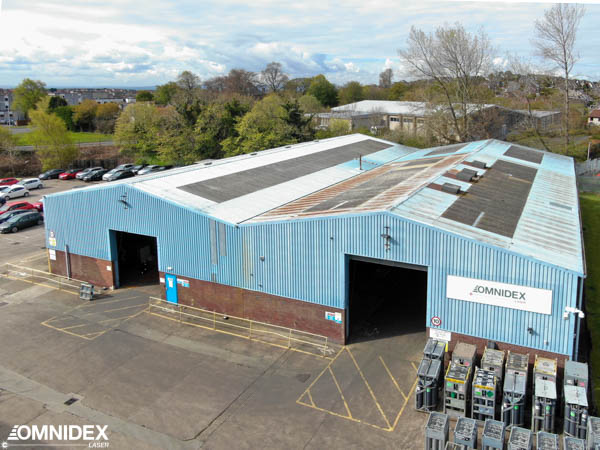 Omnidex Laser factory in Scotland and UK| offering metal cutting service | Full service contract manufacturing